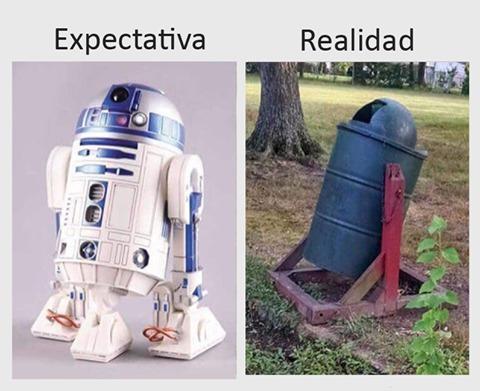 c3po expectativa vs realidad