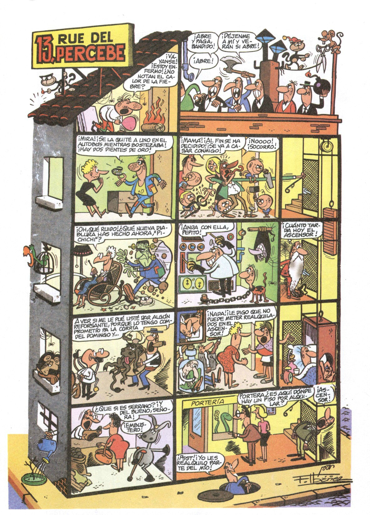 13 Rue del Percebe