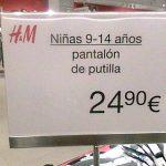 Pantalón de putilla de oferta
