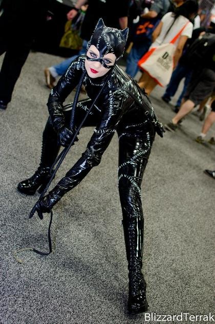 cosplay cat woman (tim burton's batman)