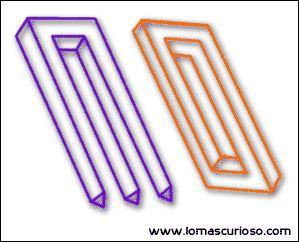 ilusion optica figuras imposibles