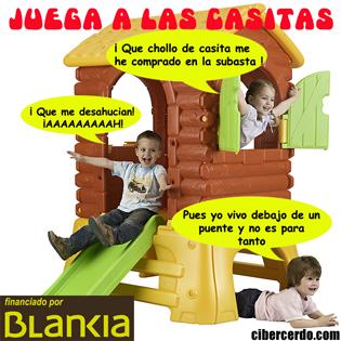 Nuevo juego de casitas de Bankia