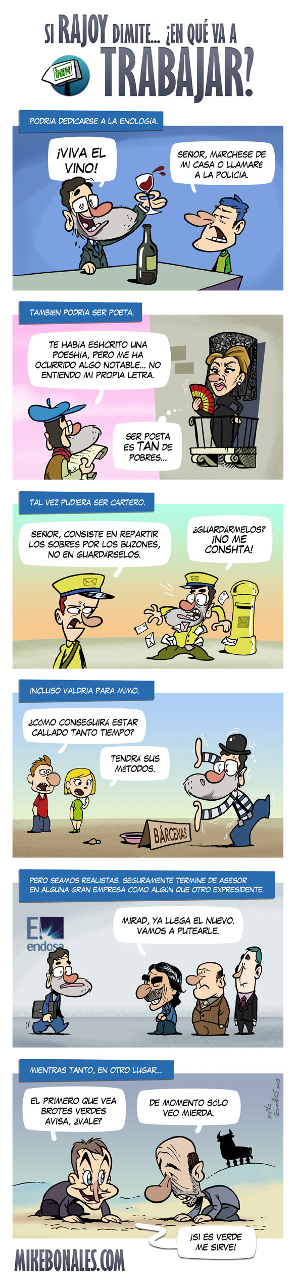 Si Rajoy dimite, ¿en qué va a trabajar?