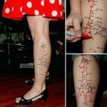 """Tatuaje """"Une los puntos"""""""