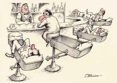 bar confortable