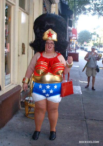 Cosplay fail - Wonder Woman