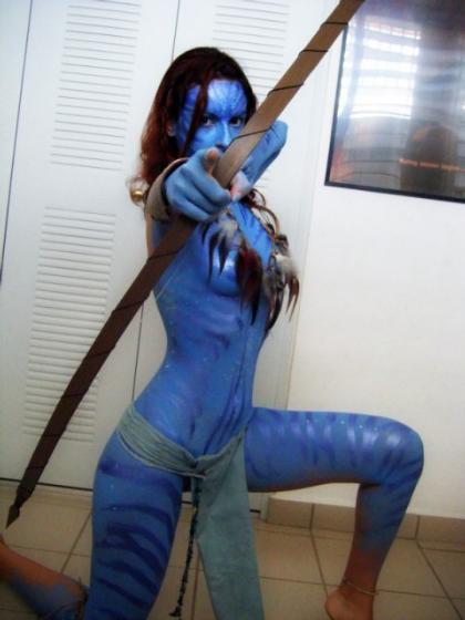 Cosplay Neytiri (Avatar)