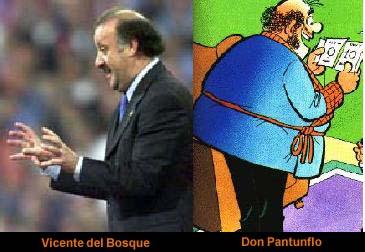 Parecidos razonables - Vicente del Bosque y Don Pantuflo