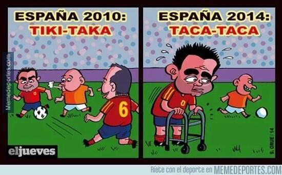 el jueves españa 2010 tiki-taka españa 2014 taca-taca