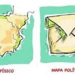 España: Mapa físico y mapa político