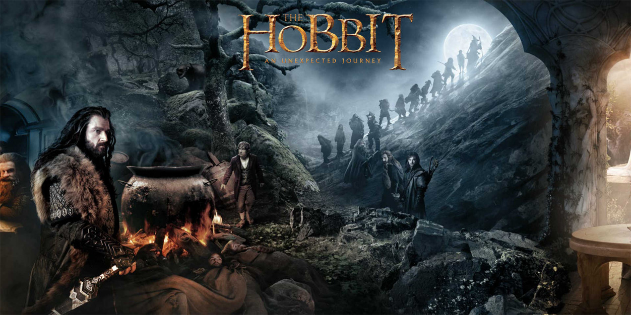 Portada Facebook - El Hobbit