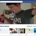Idea para portada de Facebook: Asustándose a sí mismo