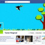 Curiosa portada + foto de perfil de Facebook – Cazando pájaros