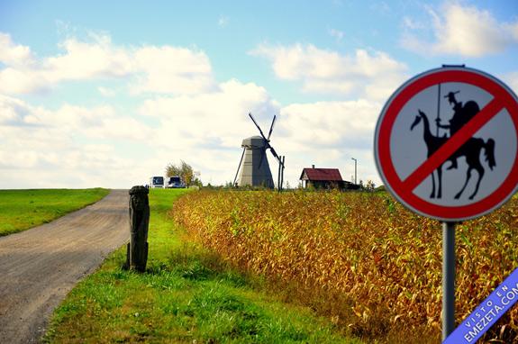 señal prohibido quijotes