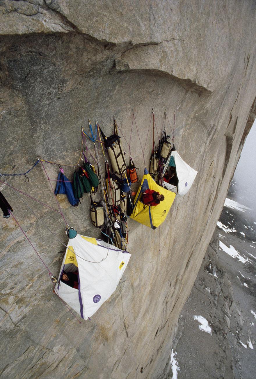 Cualquier lugar es bueno para acampar