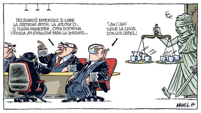Decidiendo sobre el proceso de Cristina de Borbón