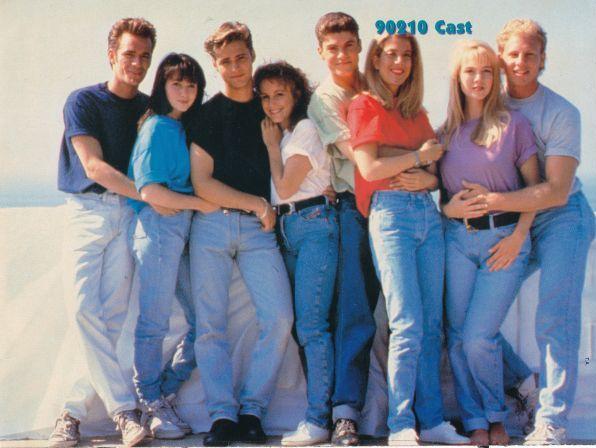 beverly hills 90210 sensacion de vivir foto actores