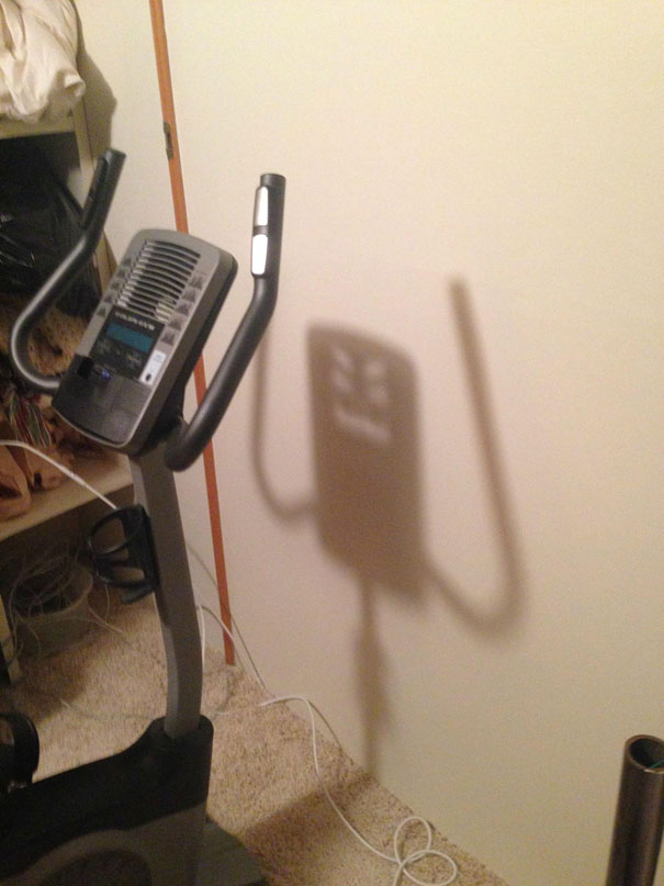 maquina gimnasio step - sombra maquina malevola