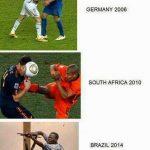 Evolución del mundial de fútbol desde 2006