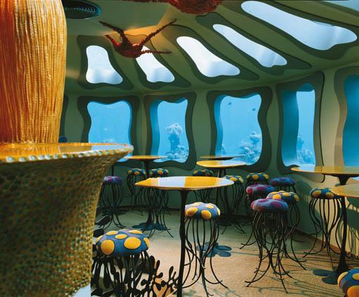 restaurante subacuatico