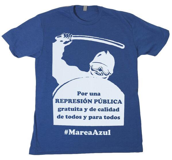 Por una represión pública gratuita y de calidad