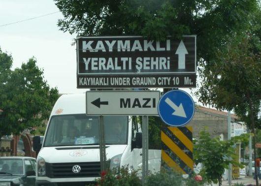 capadocia turquia cartel kaymakli under graund city