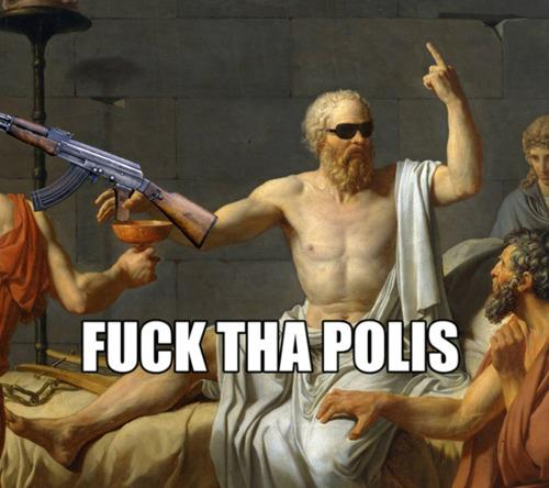 cuadro fuck tha polis