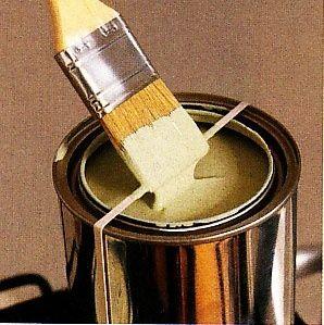 cubo de pintura tira para que la brocha no gotee