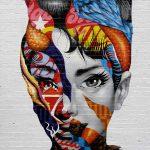 Graffiti – Cara de chica decorada