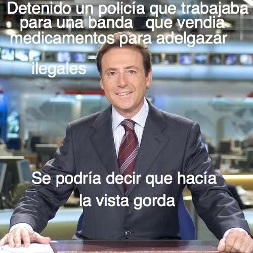 Matías Prats: Detenido policía que encubría a banda que vendía medicamentos para adelgazar