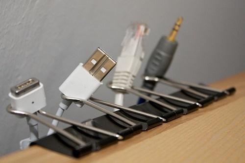 pinzas clip para sujetar cables