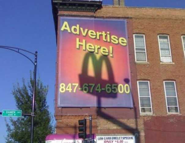 McDonalds - Publicidad gratis (advertise here)