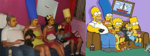 cosplay los simpson fail cutre