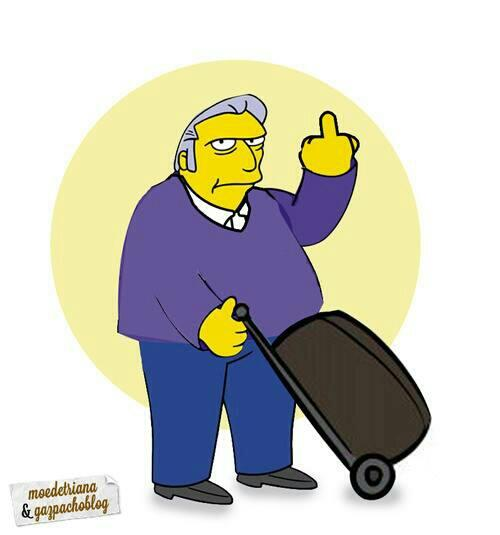 fat tony los simpson luis barcenas