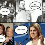 Esto de los escraches es puro Nazismo