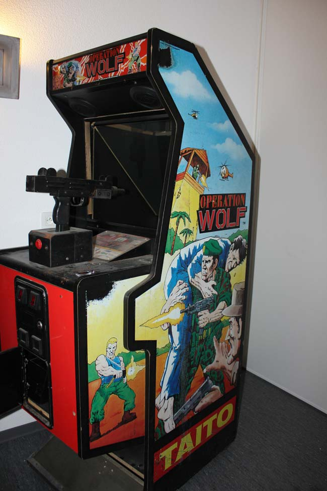 maquina recreativa operation wolf
