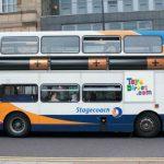 Publicidad Creativa – Autobús a pilas