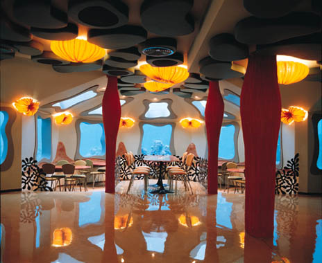 restaurante bajo el agua subacuatico 1
