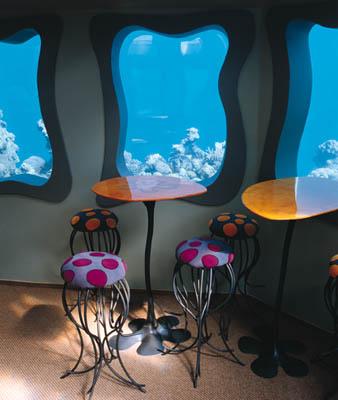 restaurante bajo el agua subacuatico 3
