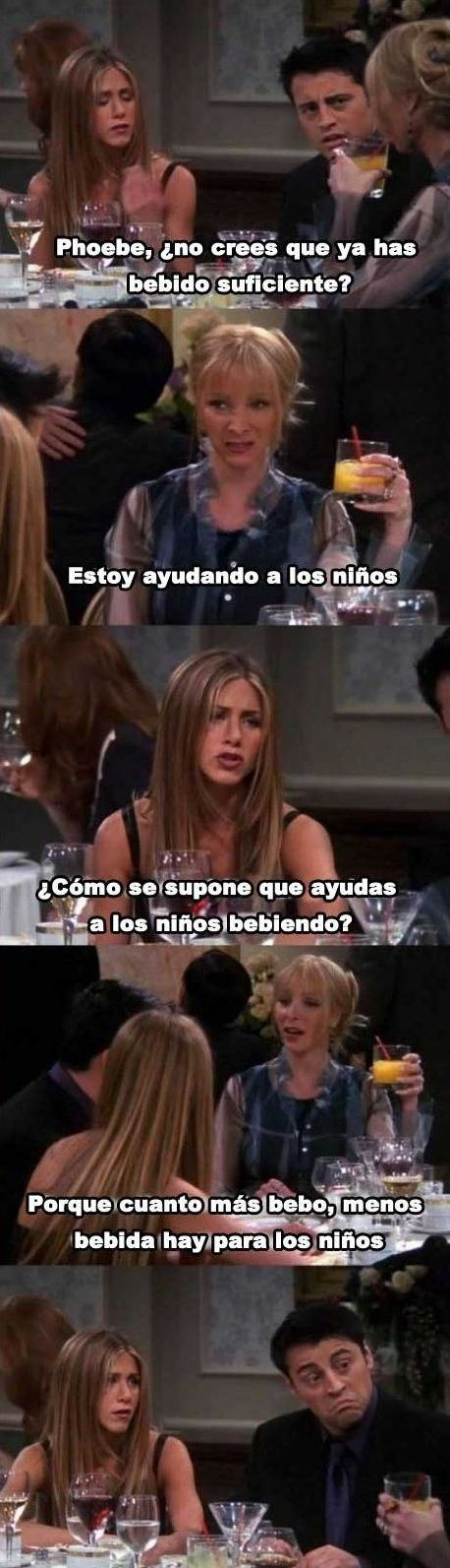 Phoebe y su lógica aplastante