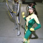 Cosplay X-Men: Tormenta y Pícara