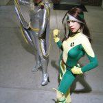 Cosplay X-Men: Tormenta y Pícara