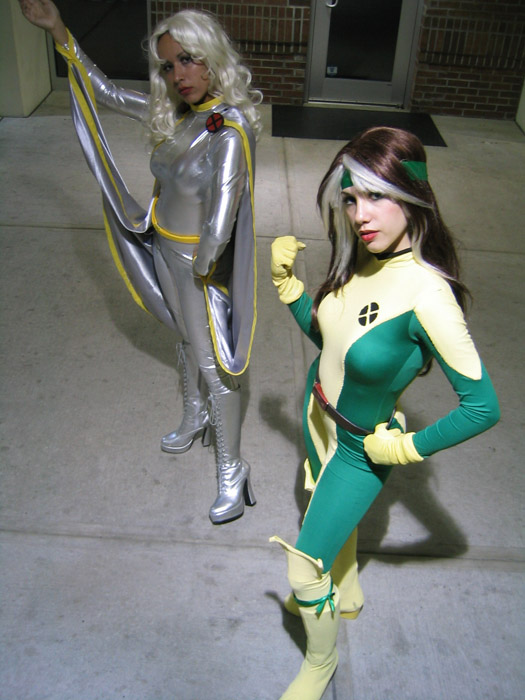 x-men cosplay - picara y tormenta