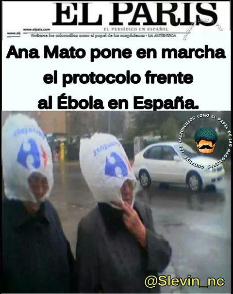 ana mato pone en marcha el protocolo frente al ebola en espana