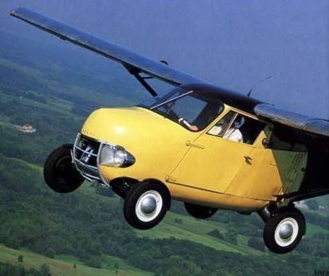avioneta con carroceria de coche