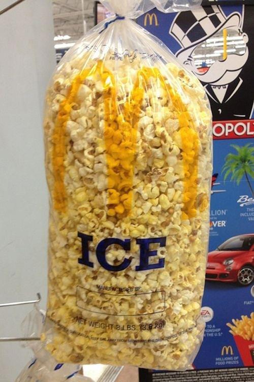 bolsa de palomitas ice