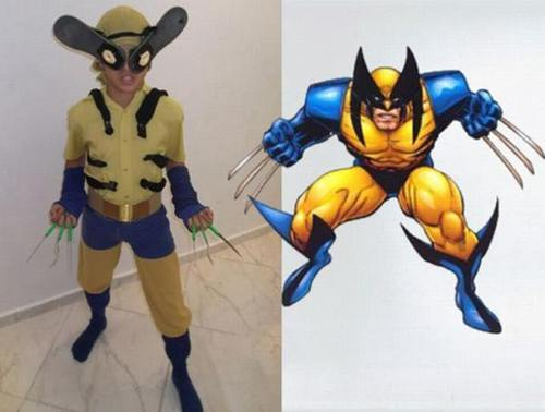 cosplay fail - lobezno