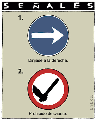 nuevas señales ley de seguridad ciudadana