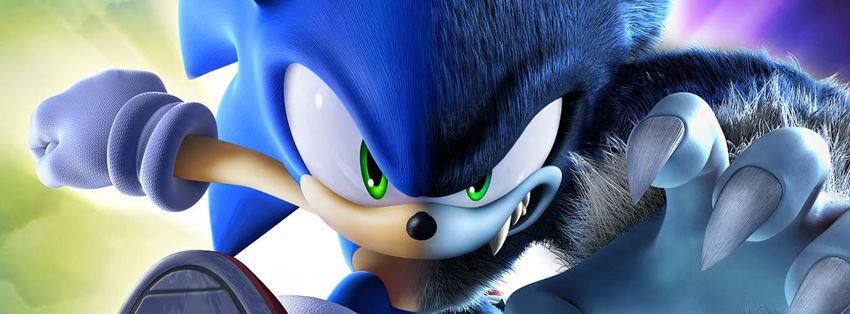 Portada Facebook - Sonic-Hombre lobo