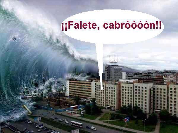 tsunami falete cabron